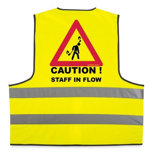 Warnweste Staff Spieler - Warnweste
