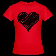 T-shirts ~ Vrouwen T-shirt ~ Heart