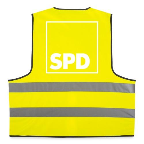SPD Warnweste Logo hinten - Warnweste