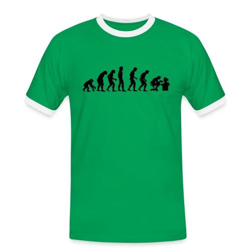 Evoluzione - Maglietta Contrast da uomo