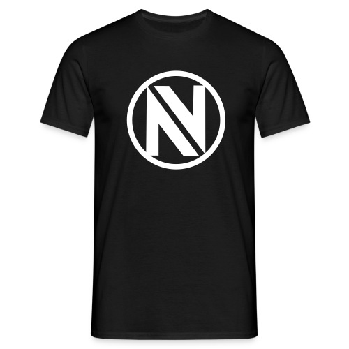 nv Circle Hoodie - Black - Men's T-Shirt