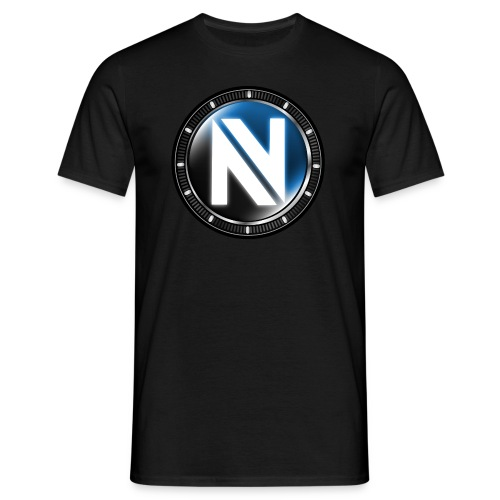 nv Ironman Logo - Black - Men's T-Shirt