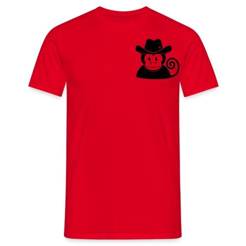 Der Bootmonkey Affe T-shirt - Männer T-Shirt