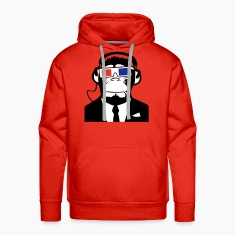 3D Ape Monkey Monkey Electroclub Headphones Headphones motif Hoodies & Sweatshirts