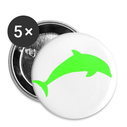 spilla amore - Confezione da 5 spille media (32 mm)