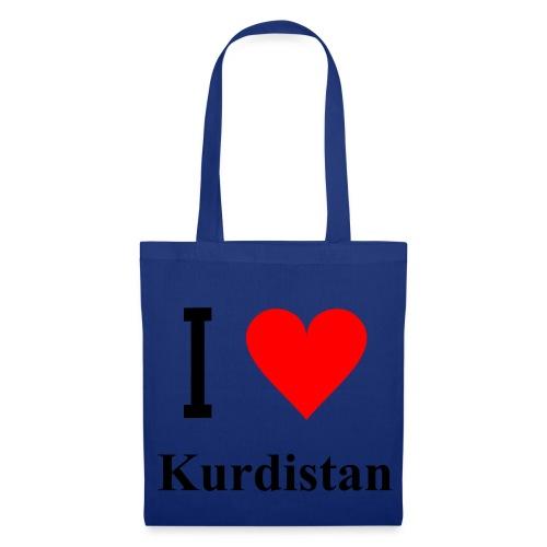 I love Kurdistan!  - Stoffbeutel