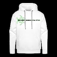 Hoodies & Sweatshirts ~ Men's Premium Hoodie ~ EmergencyFM Website Logo Hoodie