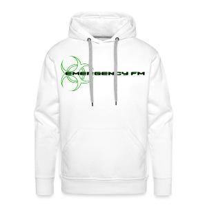 EmergencyFM Website Logo Hoodie - Men's Premium Hoodie