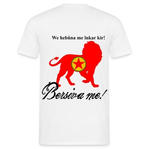 Bersîva me!  - Männer T-Shirt