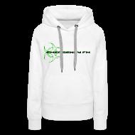 Hoodies & Sweatshirts ~ Women's Premium Hoodie ~ EmergencyFM Website Logo Hoodie
