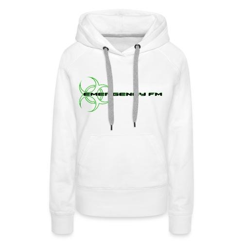 EmergencyFM Website Logo Hoodie - Women's Premium Hoodie