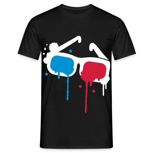 Lunette 3D - T-shirt Homme