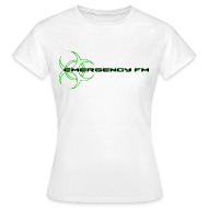 T-Shirts ~ Women's T-Shirt ~ EmergencyFM Website Logo T-Shirt