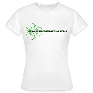 EmergencyFM Website Logo T-Shirt - Women's T-Shirt