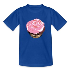 Cupcake for Kids - Teenage T-shirt