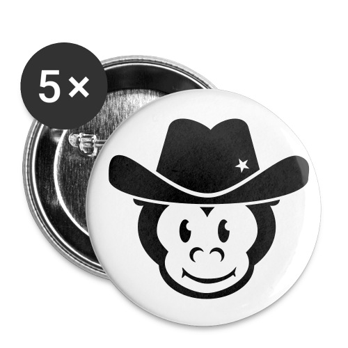 Kids Monkey Button - Buttons klein 25 mm