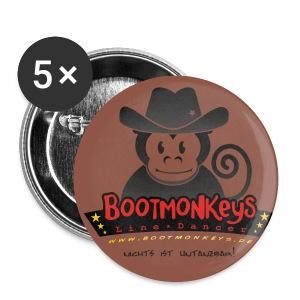 Bootmonkeys LOGO Button - Buttons groß 56 mm