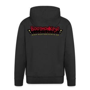 Bootmonkeys ClubLogo Kapuzenjacke - Männer Premium Kapuzenjacke