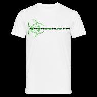 T-Shirts ~ Men's T-Shirt ~ EmergencyFM Website Logo T-Shirt