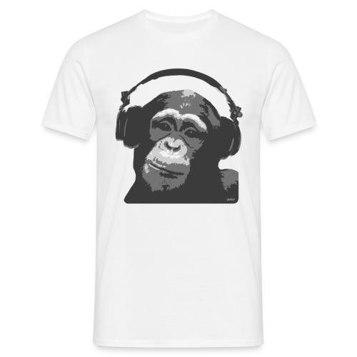 dj monkey - Men's T-Shirt