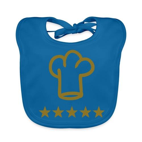 Lätzchen *5 Sterne Koch* - Baby Bio-Lätzchen