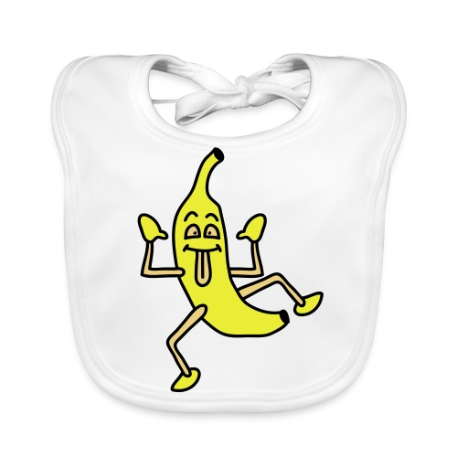 Lätzchen *funny banana* - Baby Bio-Lätzchen