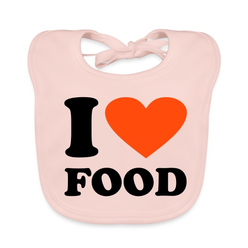 *I love food* - Baby Bio-Lätzchen