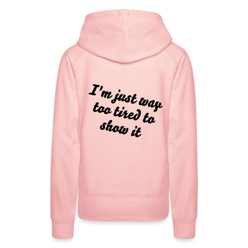 I'm sexy and I know it... - Vrouwen Premium hoodie