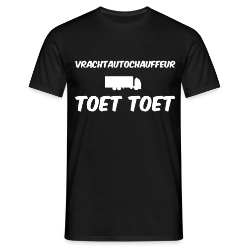 vrachtautochauffeur - Mannen T-shirt