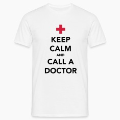 Keep Calm and Call a Doctor Koszulki