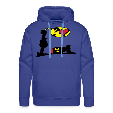 Are you lovely? Bomb Girl love comic / Atomic Bomb Hoodies & Sweatshirts