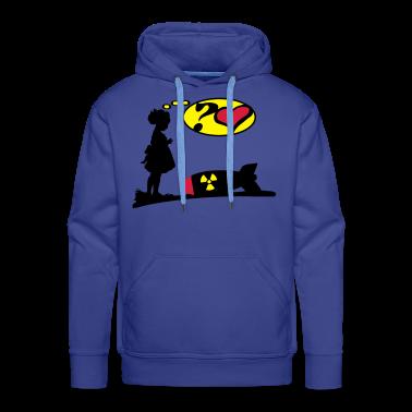 Are you lovely? Bomb Girl love comic / Atomic Bomb Hoodies & Sweatshirts
