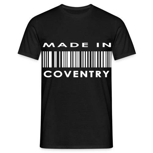 Made In Coventry - Men's T-Shirt
