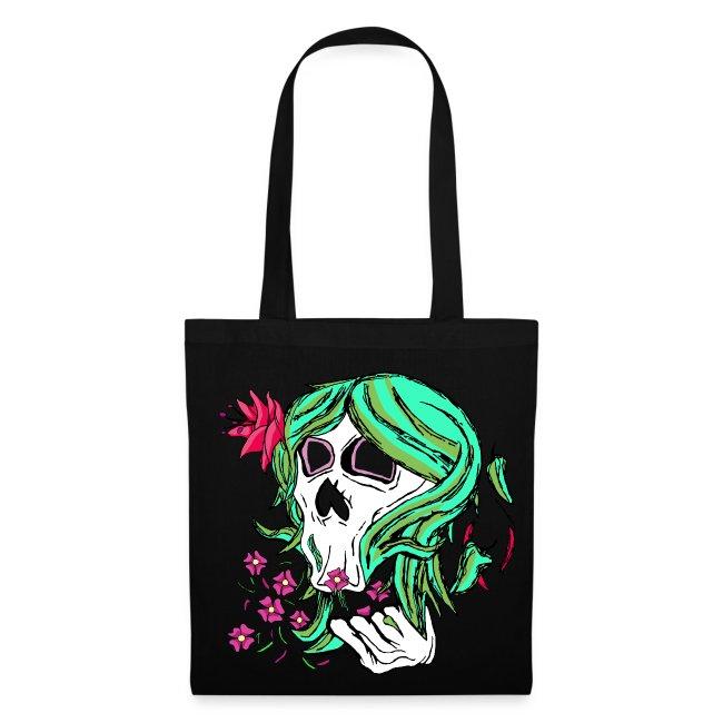 Nature Skull Tote Bag