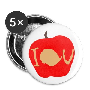 IOU (Sherlock) - Buttons small 25 mm