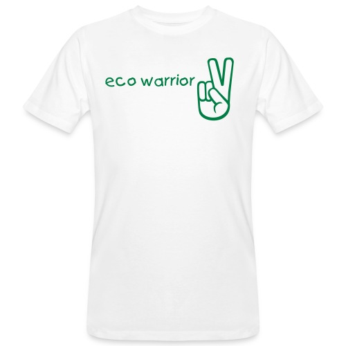 eco warrior - Men's Organic T-Shirt