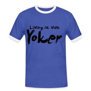 Living La Vida Yoker - Men's Ringer Shirt