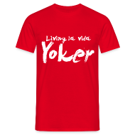 T-Shirts ~ Men's T-Shirt ~ Living La Vida Yoker