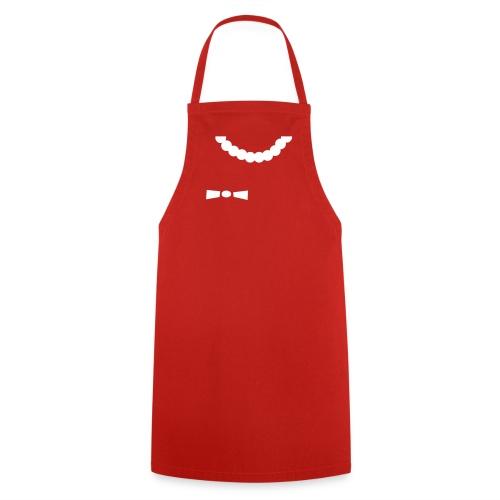 Grill- und Kochschürze Schleifenhörnchen Rot-Weiß - Kochschürze