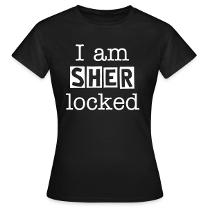 i am sherlocked. - Women's T-Shirt