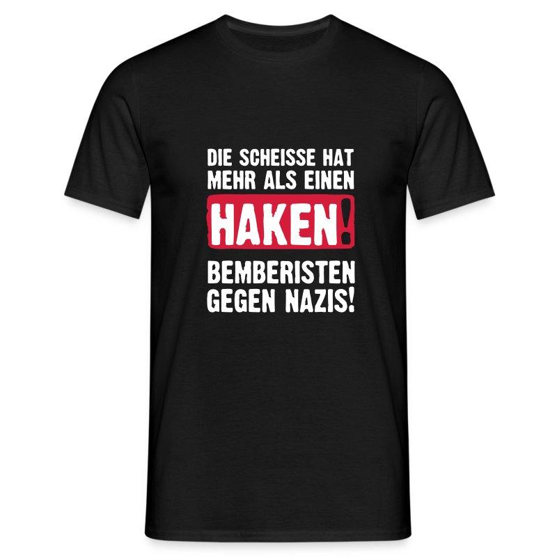 BEMBERISTEN GEGEN NAZIS! - Männer T-Shirt