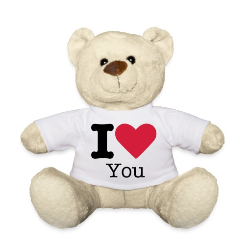 Bär - I Love you - Teddy