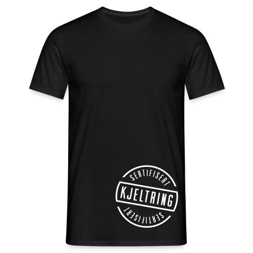 Sertifisert kjeltring - T-skjorte for menn