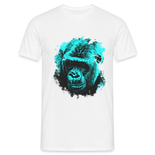 camiseta blue gorilla - Camiseta hombre