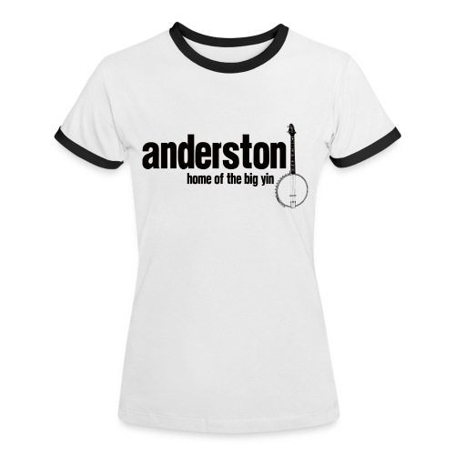 Anderston, Home of the Big Yin - Women's Ringer T-Shirt