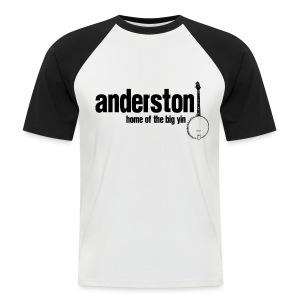 Anderston, Home of the Big Yin - Men's Baseball T-Shirt