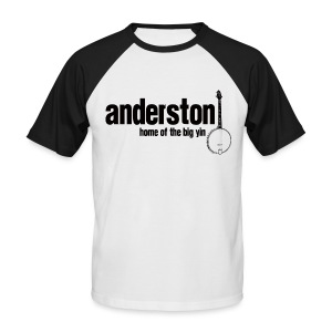 Anderston, Home of the Big Yin - Men's Baseball T-Shirt