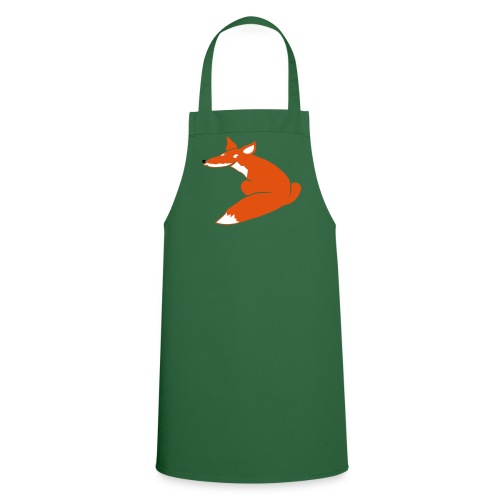 t-shirt tier fuchs hund wolf fuchsig katze fox foxy schlau tier schakal kojote - Kochschürze