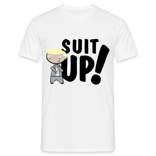 'Suit Up!' - Camiseta hombre