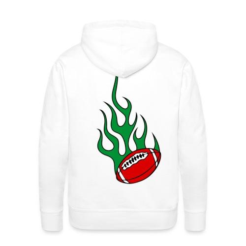 sweatshirt capuche sport basque - Sweat-shirt à capuche Premium pour hommes
